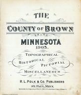 Title Page, Brown County 1905